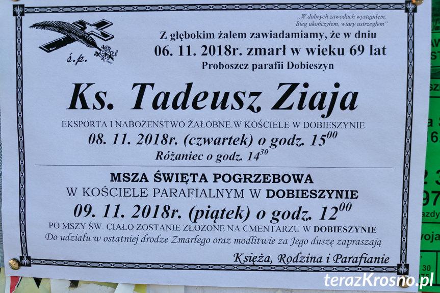 Pogrzeb ks. Tadeusza Ziaji