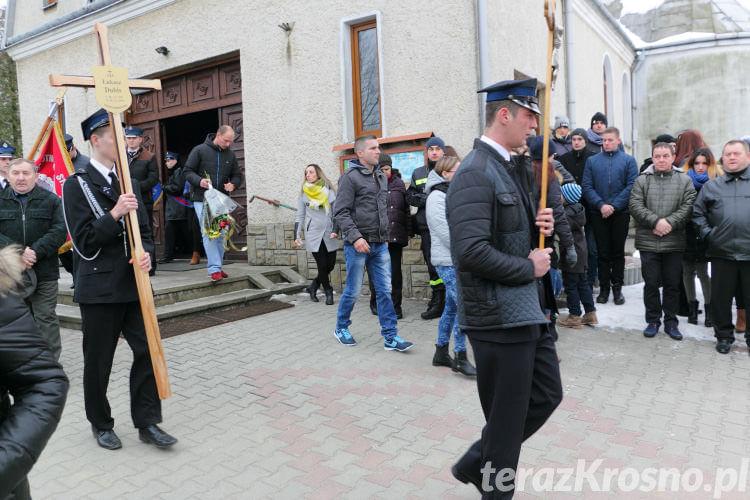 Pogrzeb Łukasza Dubisa