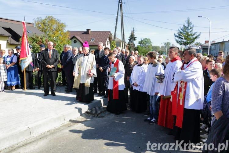 Poświęcenie kapliczki we Wróbliku Królewskim