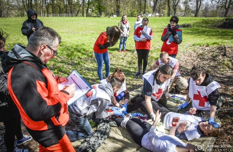 Powiatowe Mistrzostwa Pierwszej Pomocy dla drużyn ponadgimnazjalnych