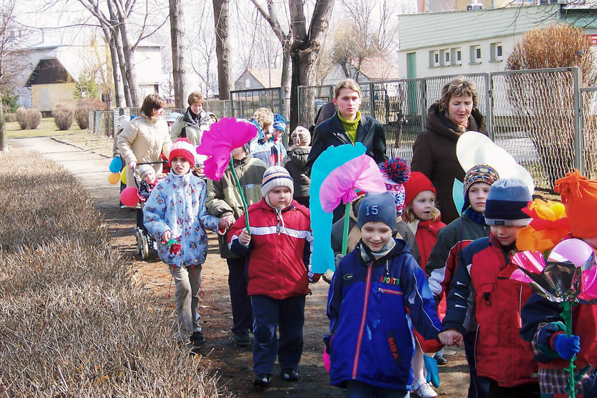 Powitanie wiosny w Przedszkolu Miejskim nr 1 w Krośnie
