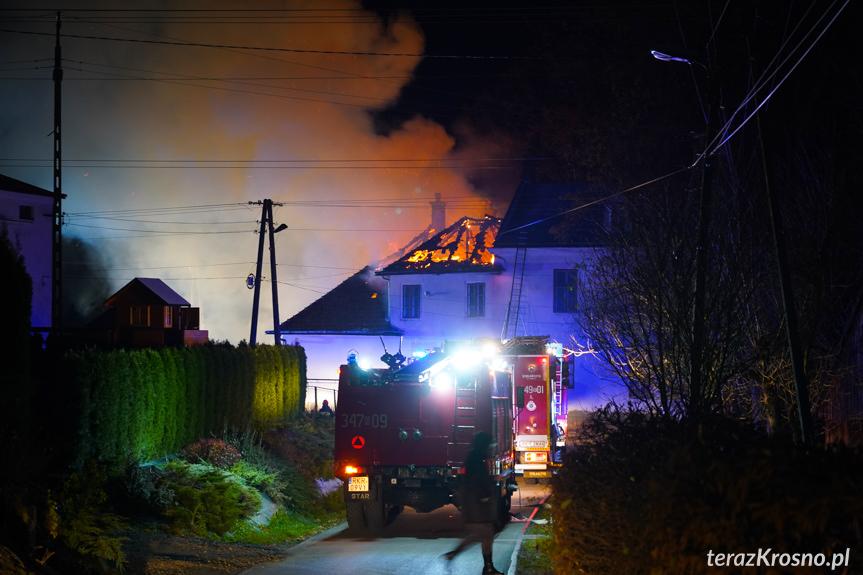 Pożar Dworu Sulimirskich w Kobylanach