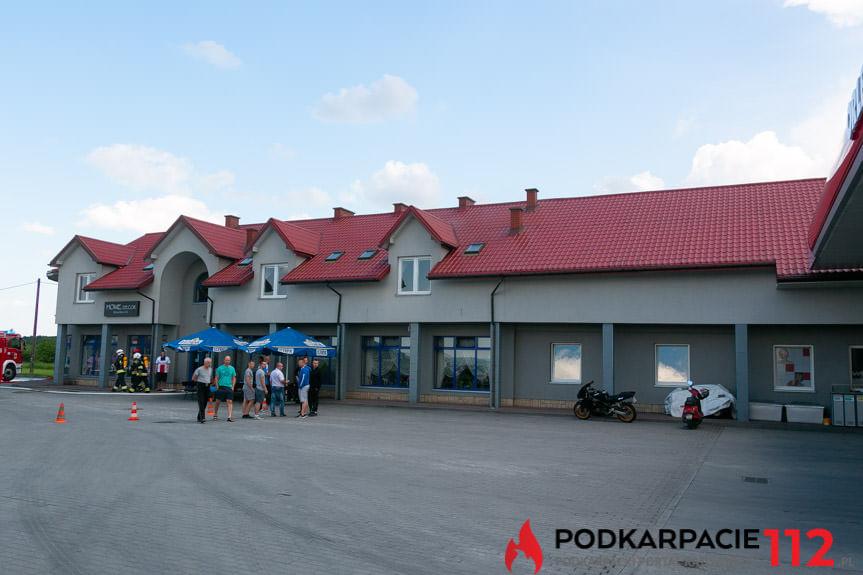Pożar na stacji Orlen w Targowiskach