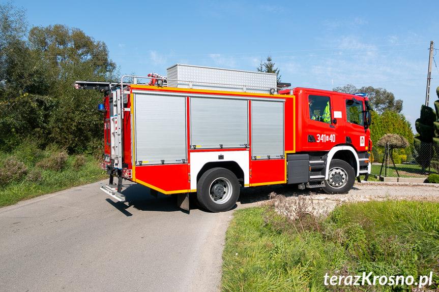 Pożar pralki w Żeglcach
