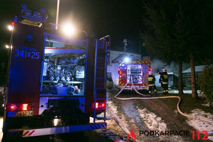 Pożar w Bajdach