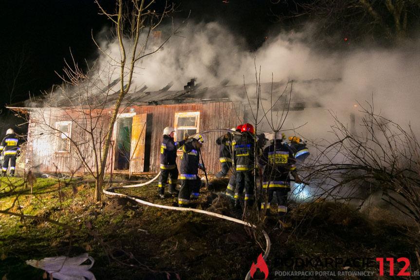 Pożar w Chorkówce