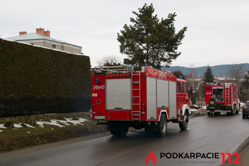 Pożar w Domu Księży Seniorów w Korczynie