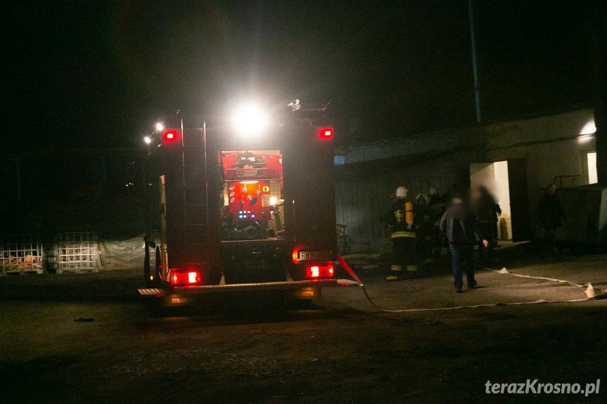 Pożar w Iwoniczu