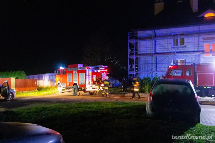 Pożar w Jedliczu