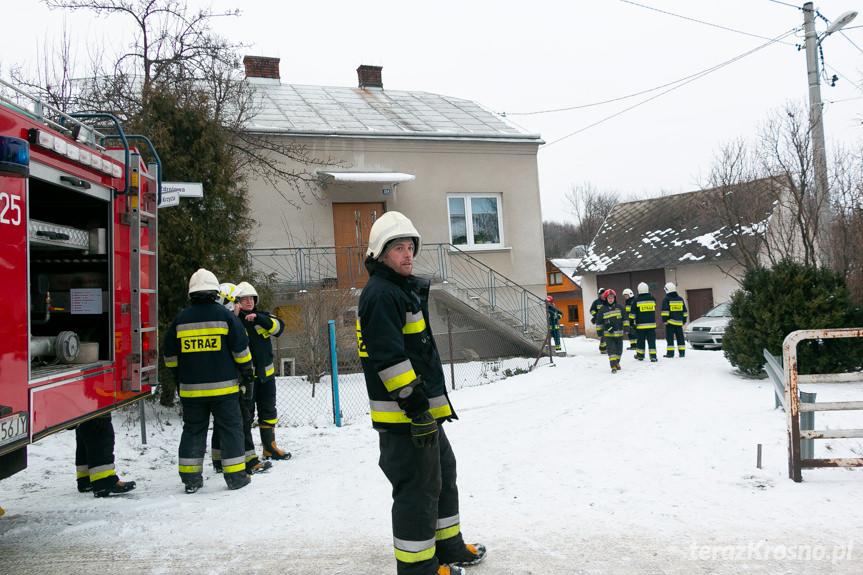Pożar w Klimkówce