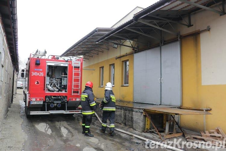Pożar w Korczynie