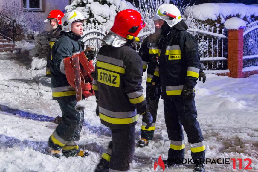 Pożar w Odrzykoniu