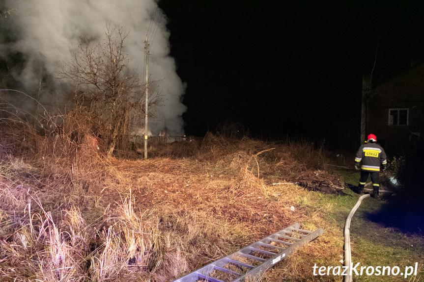Pożar w Polance