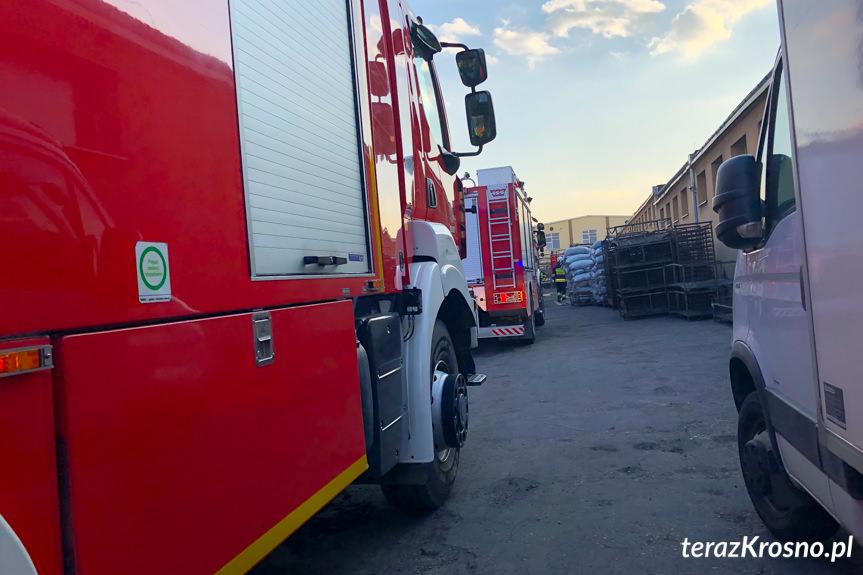 Pożar w Rymanowie