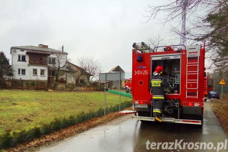 Pożar w Woli Komborskiej