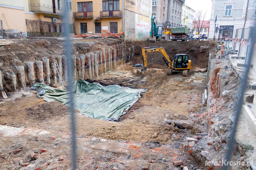 Późnośredniowieczne studnie w Krośnie