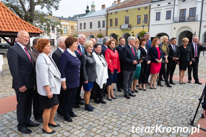 Prezentacja kandydatów komitety wyborczego Piotra Przytockiego
