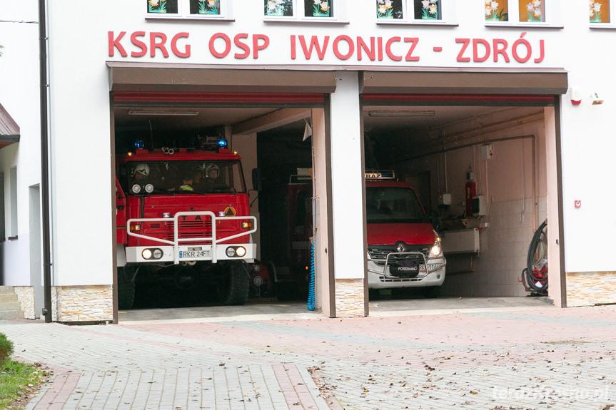 Próbna ewakuacja w Iwoniczu-Zdroju