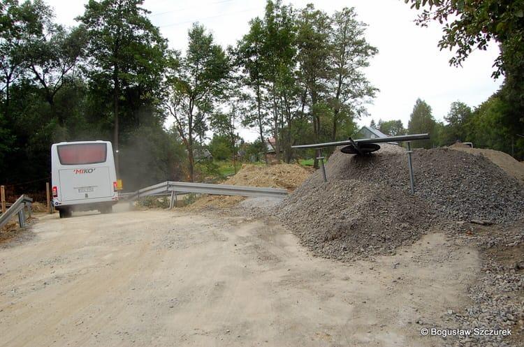 Przebudowa mostu w Draganowej