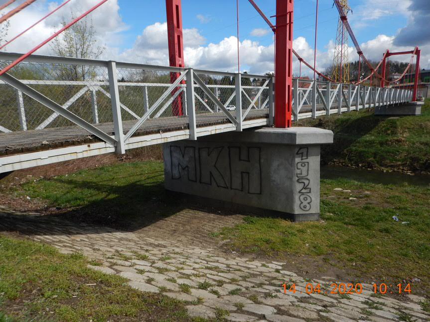 Pseudograffiti w Krośnie