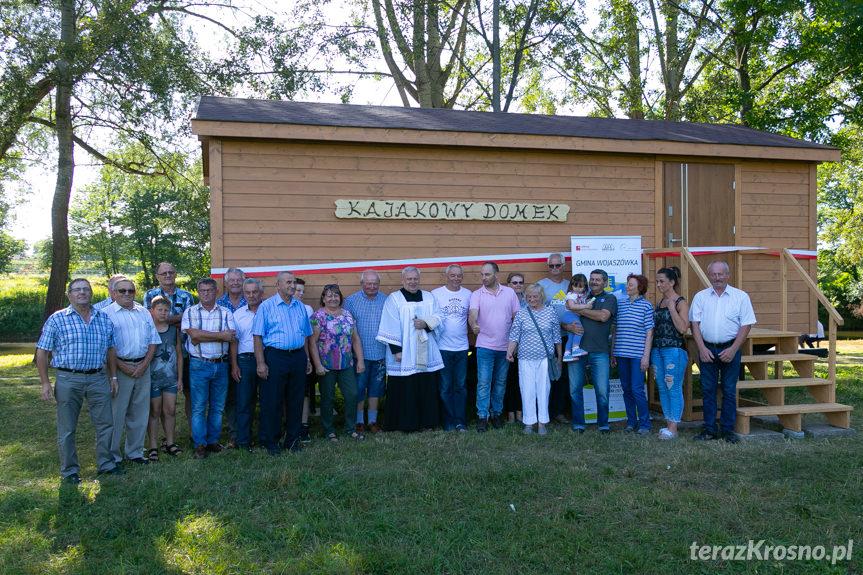 Otwarcie domku kajakowego w Wojkówce