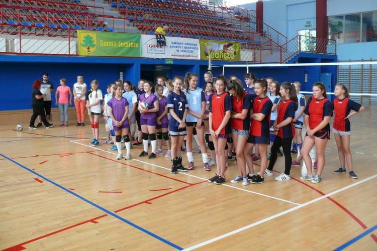 Siatkarki z SP  GOSiR Jedlicze złotymi medalistkami