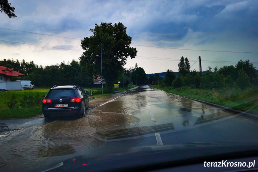 Fatalne skutki ulew w powiecie krosnieńskim