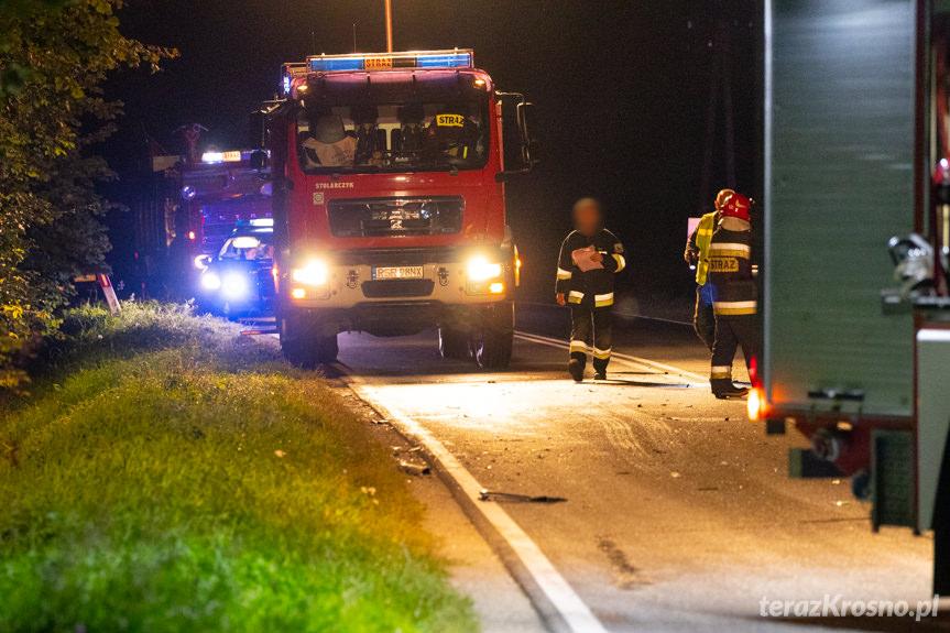 Śmiertelny wypadek w Widaczu. Nie żyje 21-latka