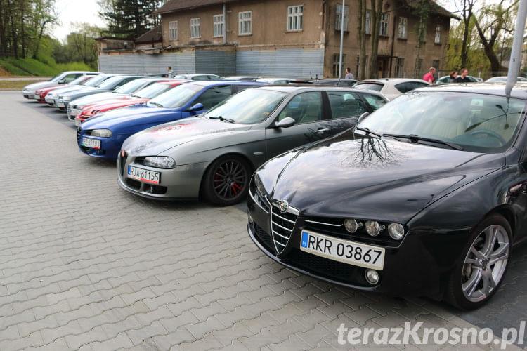 Spotkanie miłośników Alfa Romeo w Krośnie