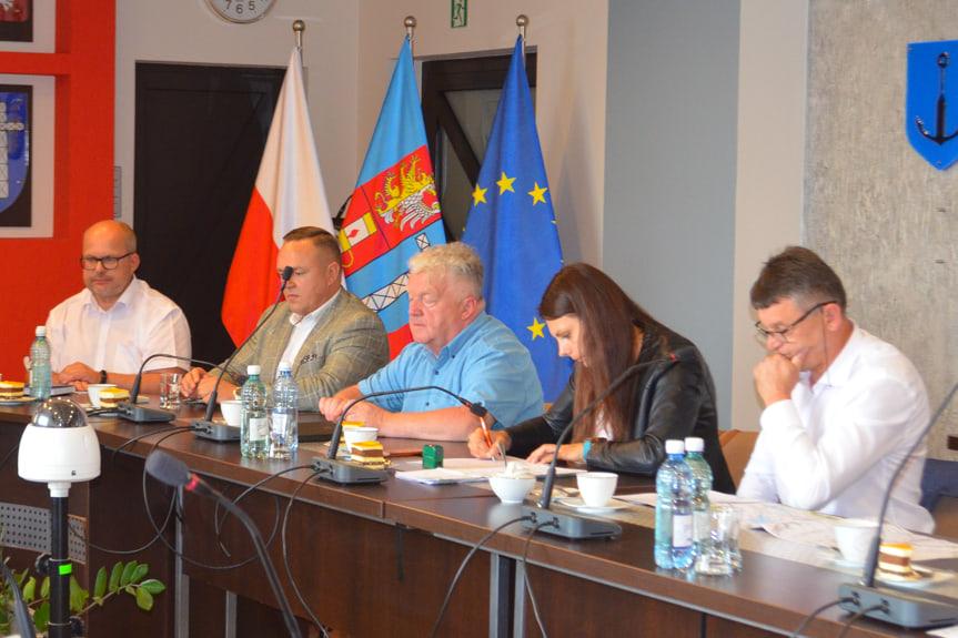 Spotkanie w Starostwie Powiatowym w Krośnie