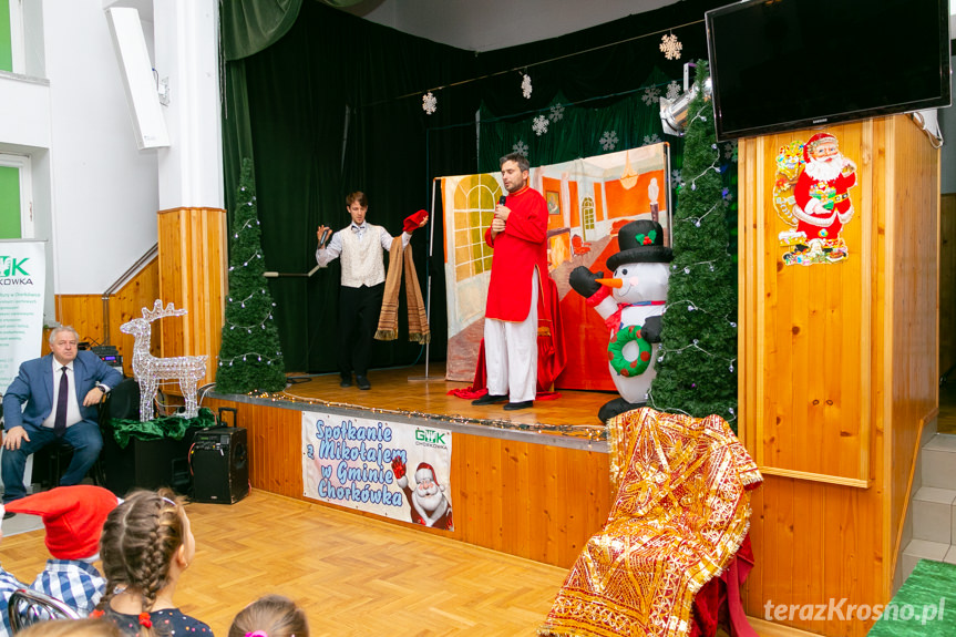 Spotkanie z Mikołajem w Chorkówce