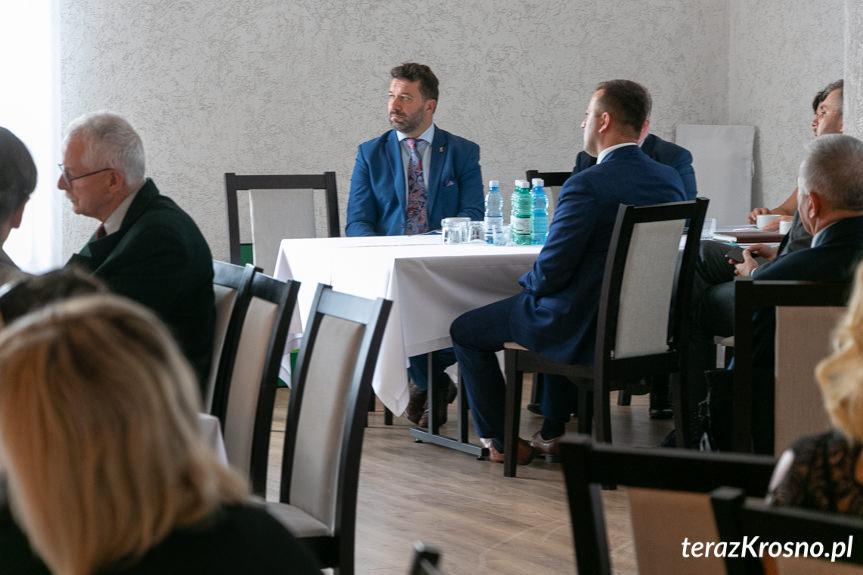 Spotkanie z minister w Rymanowie