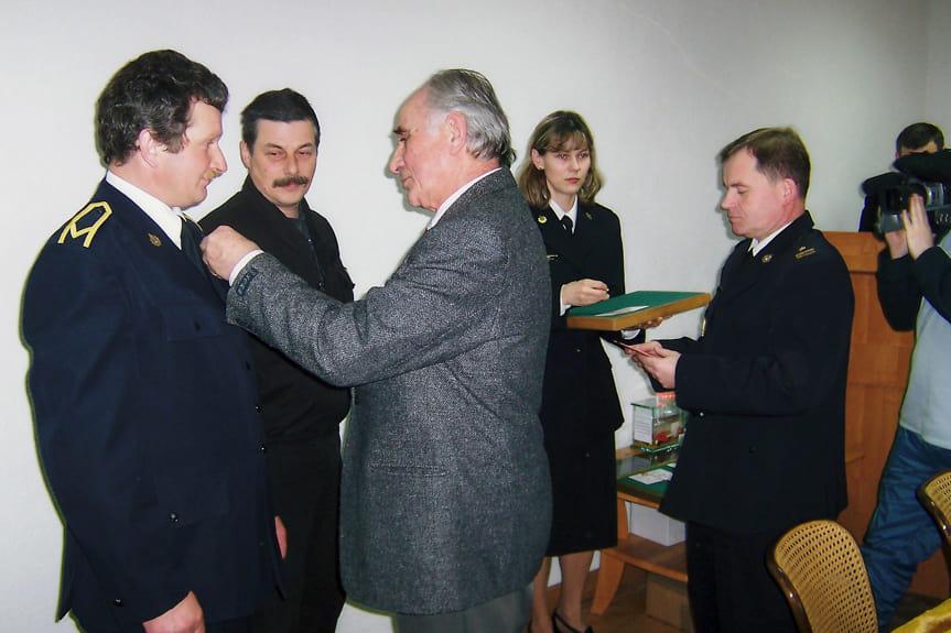 Spotkanie z okazji 18-lecia HDK PCK w KM PSP w Krośnie