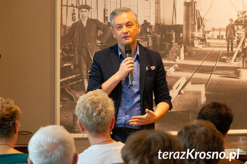 Spotkanie z Robertem Biedroniem w Krośnie