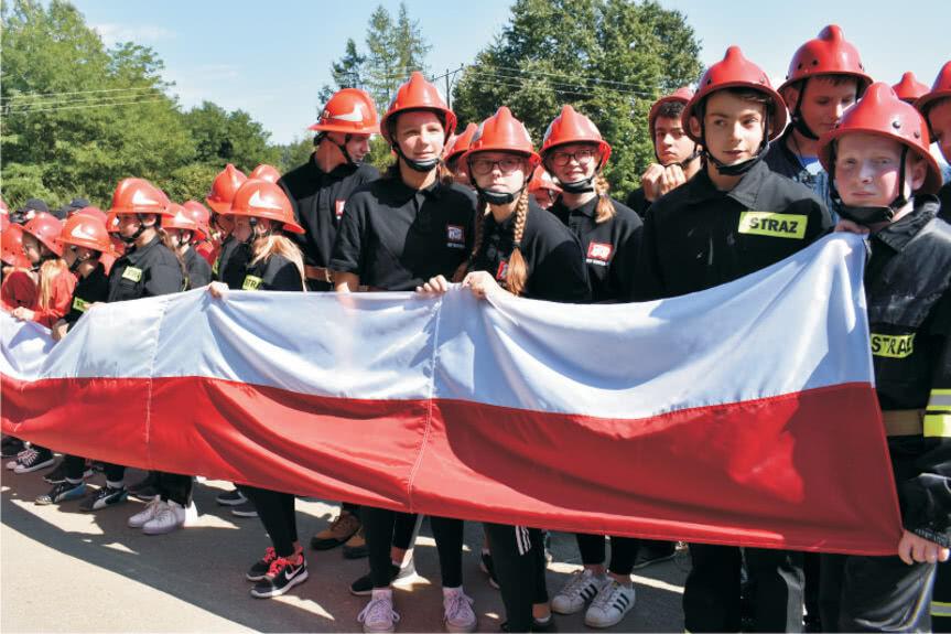 Strażacy z gminy Wojaszówka
