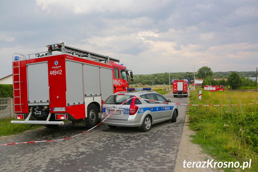 Tragiczny wypadek w Szebniach