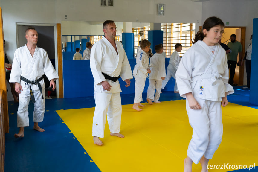 Trening judoków