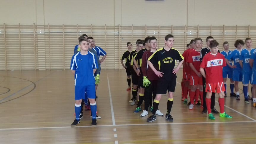 Turniej Halowy Juniorów o Puchar Prezesa LKS Głowienka