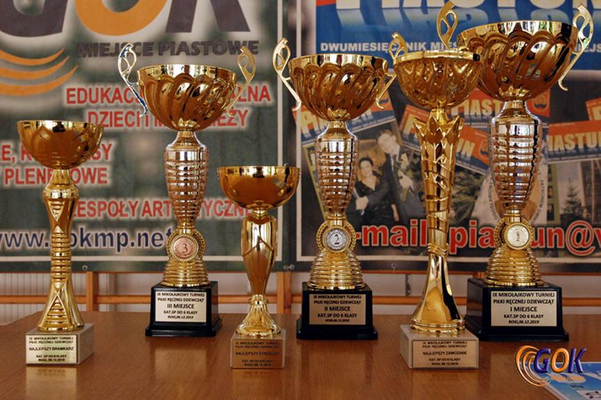 Turniej Piłki Ręcznej Dziewcząt