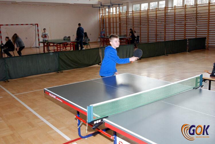 Turniej Tenisa Stołowego w Rogach
