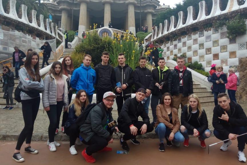Uczniowie Budowlanki na praktykach w Hiszpanii