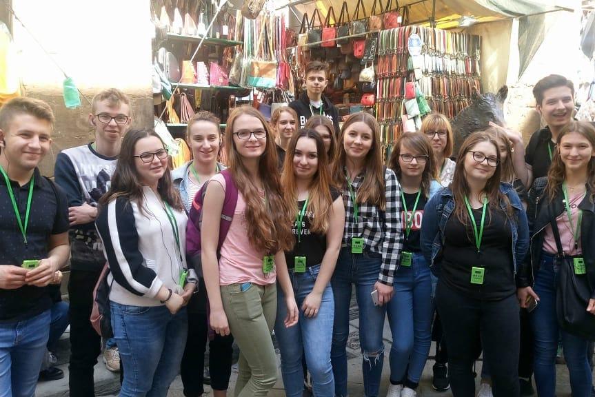 Uczniowie Gastronomika na stażu w Bolonii