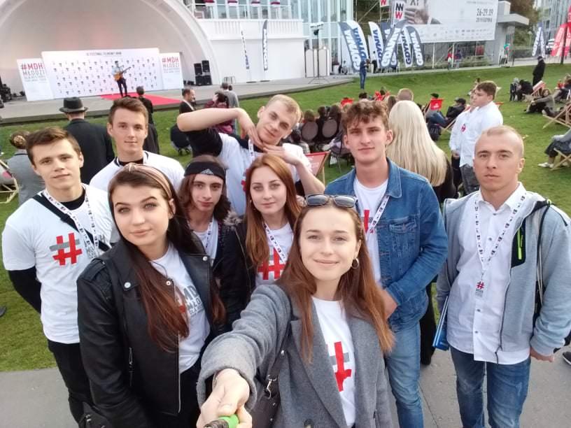 Uczniowie z krośnieńskiej Budowlanki na festiwalu w Gdyni