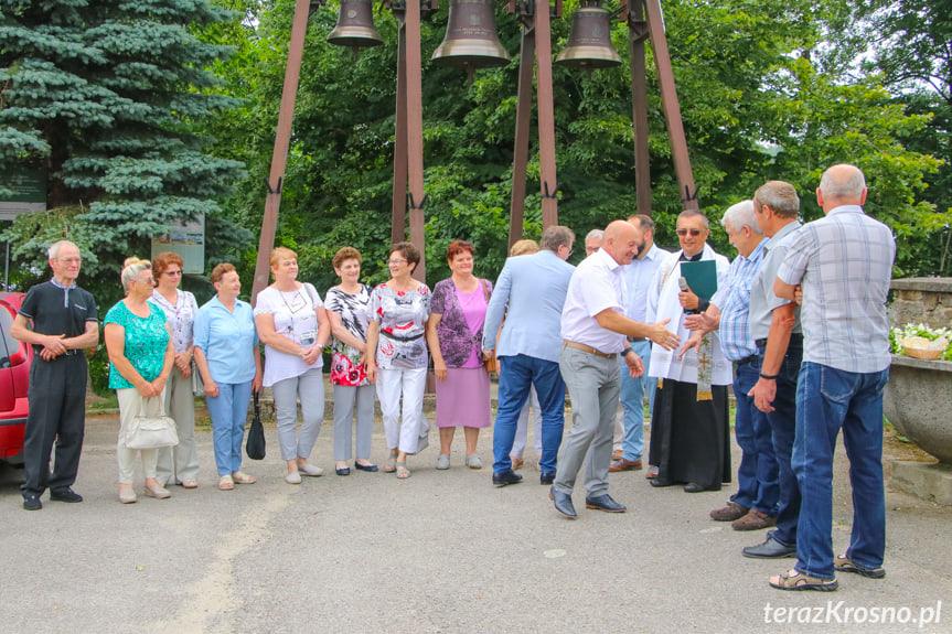 Uroczyste otwarcie drogi w Klimkówce