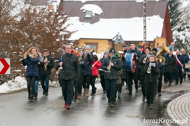Uroczystość nadania szkole w Zalesiu...