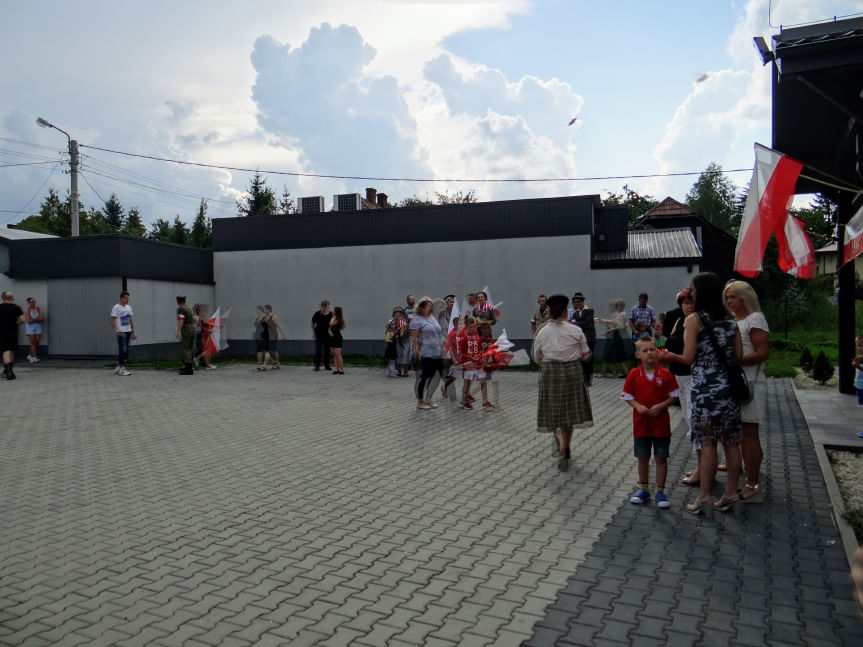 Uroczystość patriotyczna w Żeglcach