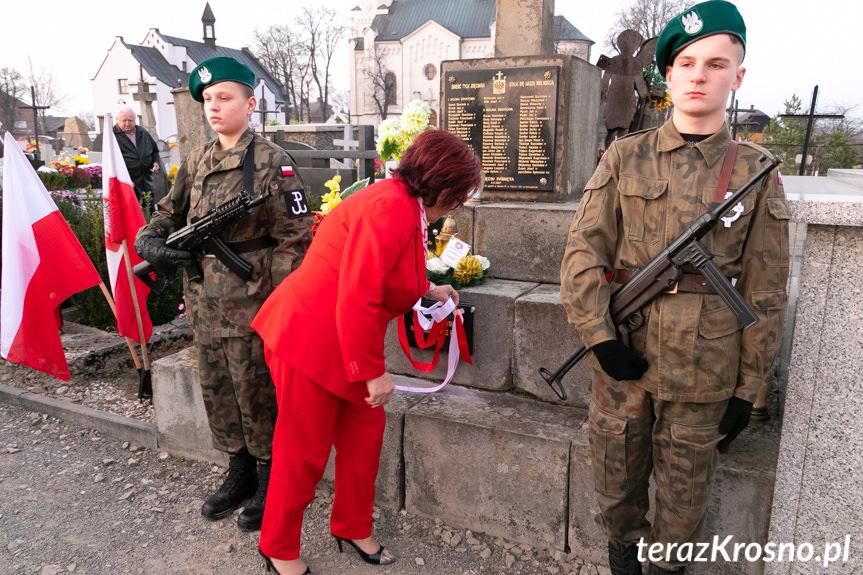 Uroczystość patriotyczna w Zręcinie