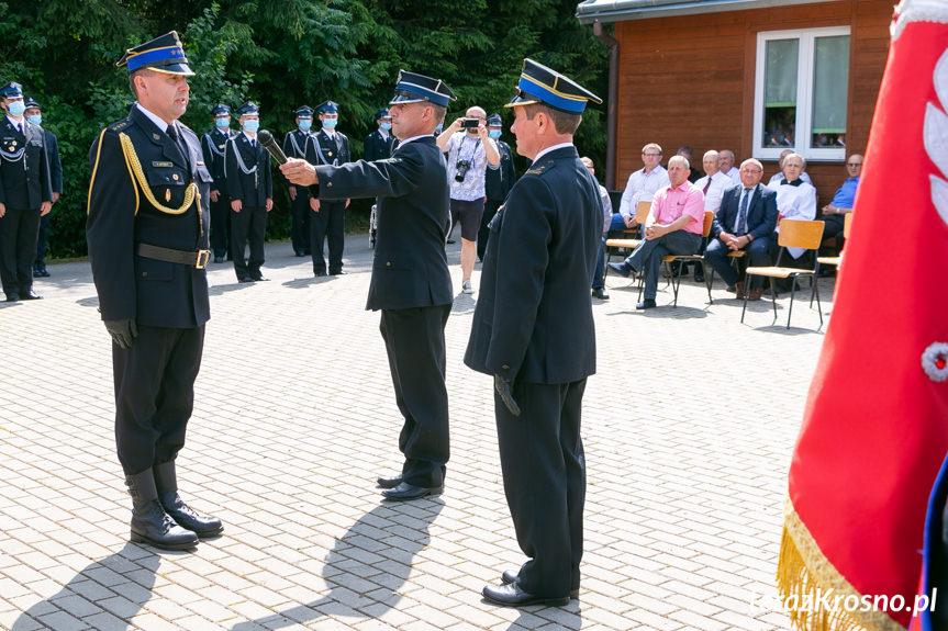 Uroczystość strażacka w Tylawie