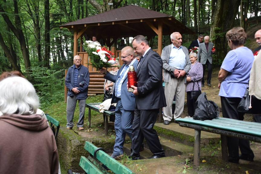 Uroczystość w Lesie Grabińskim