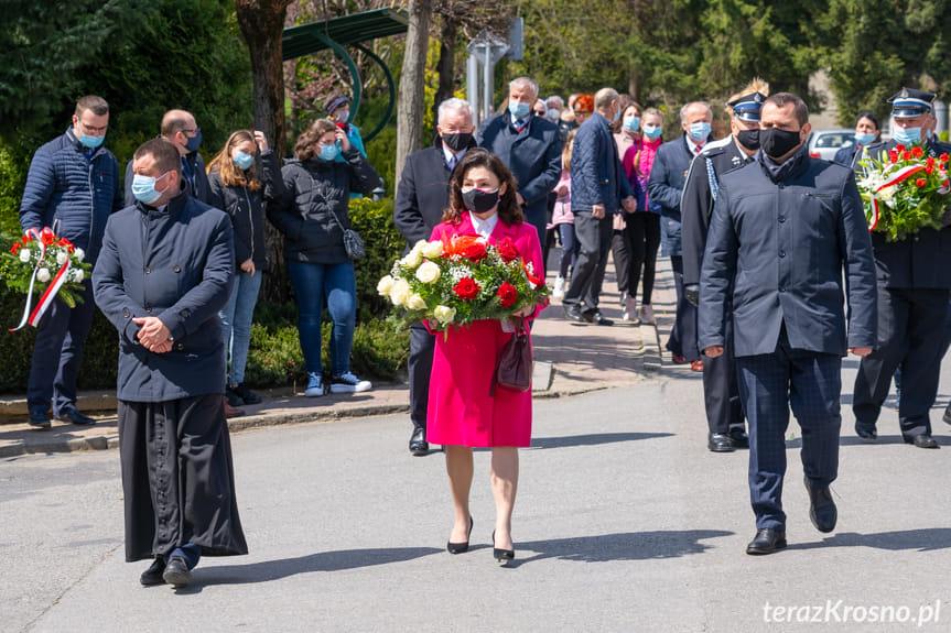 Uroczystości 3 maja w Jedliczu